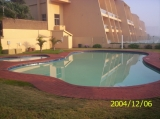 Complex pools situated on the Southern side of the sea facing units, just below the braai areas